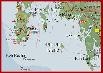 Detaljeret Kort Over Thailand | stoffeerderijrozendal