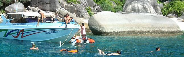 bedste snorkling i thailand