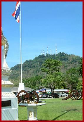 WKT034 Phuket seværdighed - De danske bronce kanoner