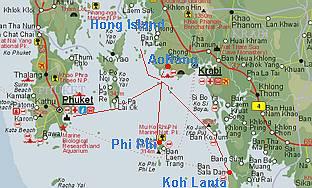 Wkt 093 Koralrev Snorkeling Hvide Badestrande Ved Krabi Aonang