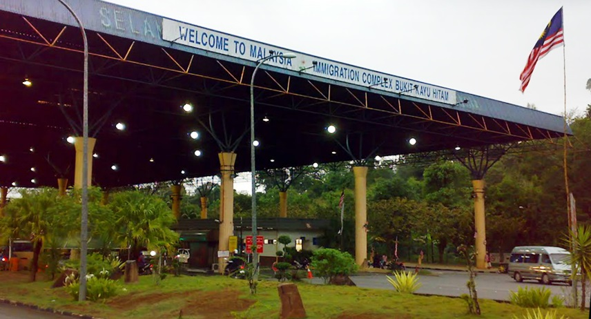Bukit Kayu Hitam border crossing