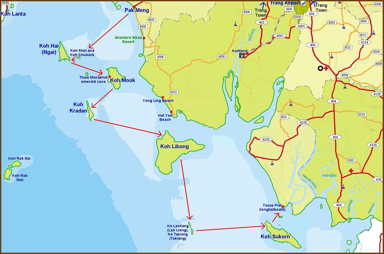 Us Island Hopping Map